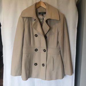 Kenneth Cole wool blend coat